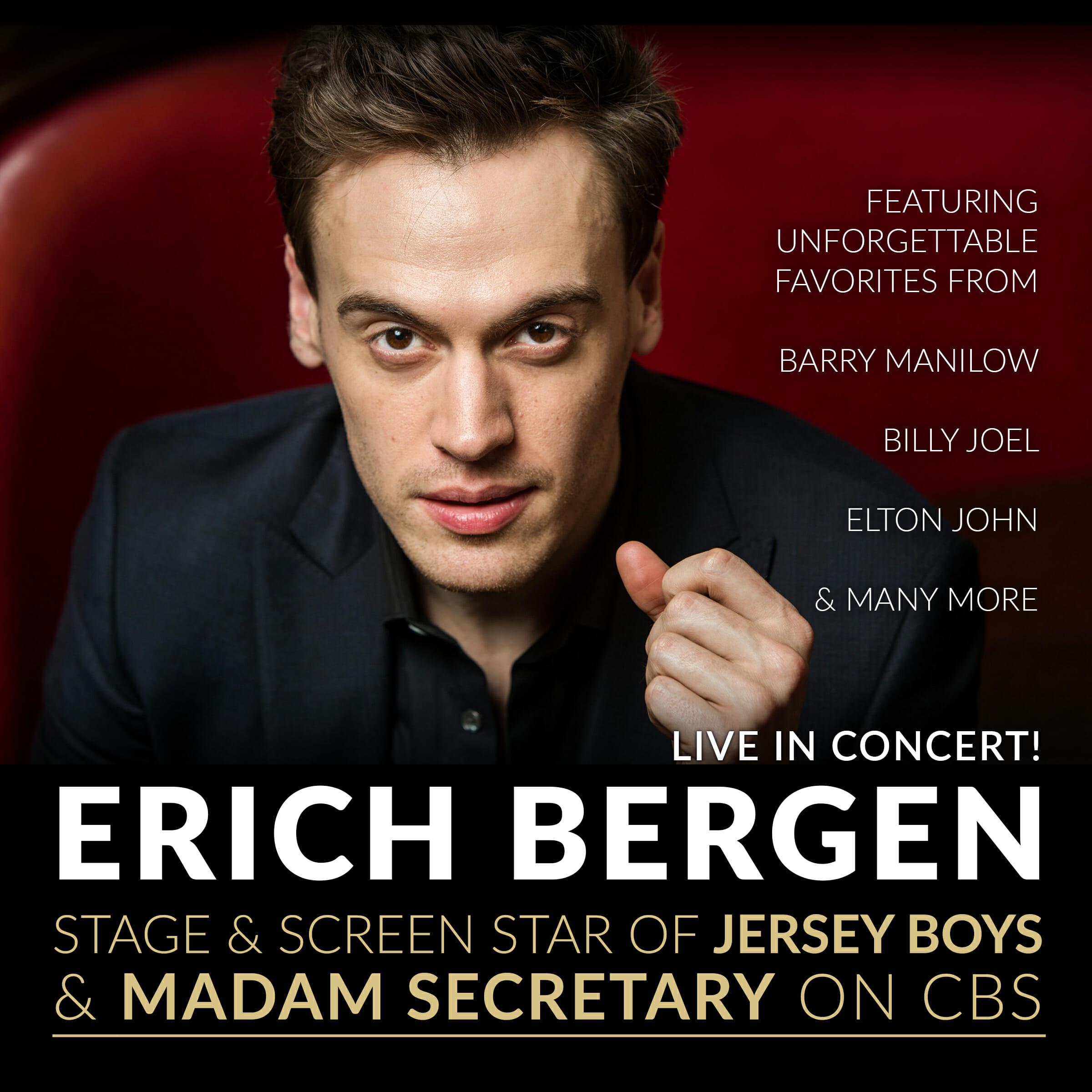 Erich Bergen Live in Concert