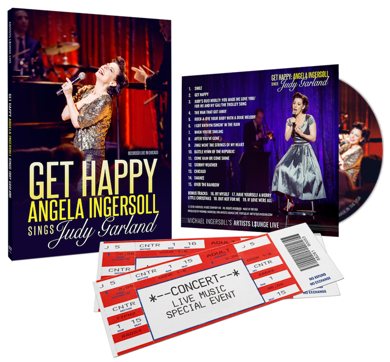 Get Happy: Angela Ingersoll sings Judy Garland – Artists Lounge Live